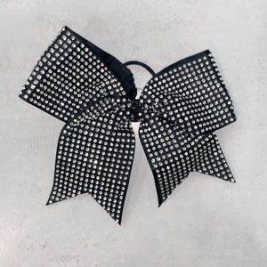 Black Bedazzled Allstar Cheer Bow